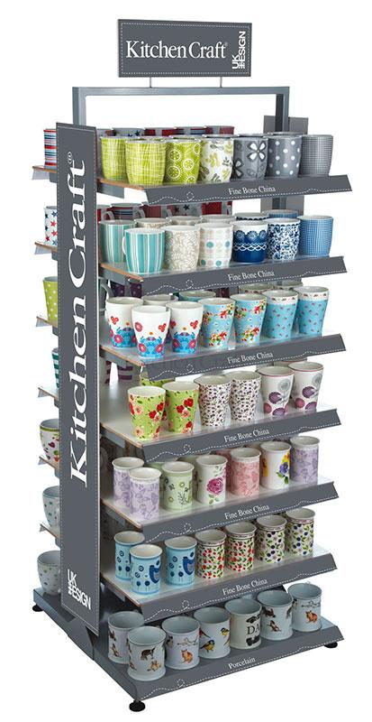 Kitchen Craft Mug Display