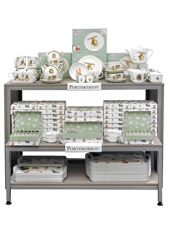 Portmeirion Table Display